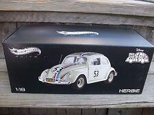 Mattel Hot Wheels Disney Herbie Love Bug VW Volkswagon Beetle DieCast ELITE 1/18
