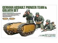 Tamiya 35357 German Assault Pioneer Team & Goliath Set 1/35 Scale Kit
