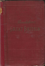 BAEDEKER'S GREAT BRITAIN - 1910 - 7th edition - 28 maps, 65 plans, and panorama