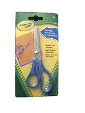 Crayola Blunt Tip Scissors Metal Blade, R & L Handed Blue