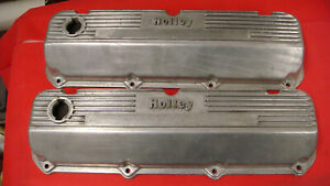 MICKEY THOMSON FORD 429 460  FINNED ALUMINUM VALVE COVERS 103R-52BX HOLLEY