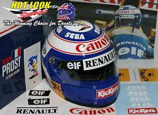 Alain Prost 1:2 Helmet Missing Decals Stickers cut Vinyl 1993 F1 World Champion
