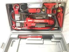 4 Ton Hydraulic Jack Hand Pump Ram Automotive Porta Power Body Shop Tool