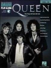 Queen Drum Play-Along Vol 29 Sheet Music Book/Audio Another One Bites The Dust
