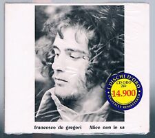FRANCESCO DE GREGORI ALICE NON LO SA CD F.C. I DISCHI D'ORO SIGILLATO!!!