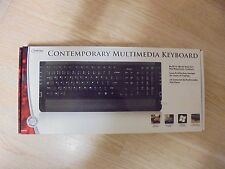 Digital Innovations Contemporary Multimedia Keyboard  Wired