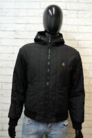 Giacca Uomo RefrigiWear Taglia M Cappotto Giubbotto Nero Jacket Man Black Italy