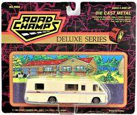 1993 Road Champs Winnebago Tan Deluxe Series 5900 1/64 Scale Die Cast Metal