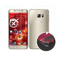 3x Anti-Shock Pellicola protettiva opaco&flessibile Samsung Galaxy S6 Edge Plus