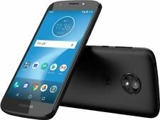 Motorola MOTO E5 Play with 16GB storage Black AT&T Prepaid cell smartphone New