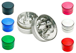 30mm 2part Tobacco Grinder Multi-colored Metal Magnetic Herb Crusher Shredders