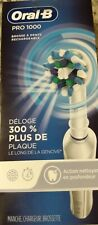 New Oral-B Pro 1000  Deep Cleaning Action Rechargeable Toothbrush White
