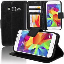 Etui Housse Portefeuille Rabat Cuir PU Samsung Galaxy Core Prime 4G SM-G361F