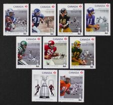 CANADA 2012 #2568-76 Football, Grey Cup complete set of 9 die-cut stamps Mint NH