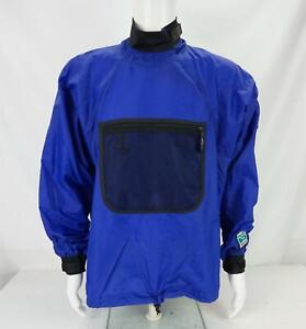 Kokatat Men's Pullover Gore-Tex Dry Top Paddling Jacket Blue & Black Size 27