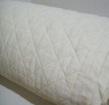 Pottery Barn Belgian Flax Linen Diamond Quilted Ivory King Cal King Quilt New