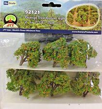 "JTT SCENERY 95121 Orange Tree Grove 6/pk 2"" to 2'1/4"" Tall"