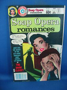 SOAP OPERA ROMANCES 3 F VF CHARLTON 1982