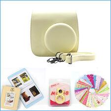 Gmatrix 4 in 1 Fujifilm Instax Mini 8 Case Bag Accessory Bundle Best Gift Yellow