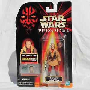 Star Wars Episode 1 TPM RIC OLIE Naboo Pilot Figure