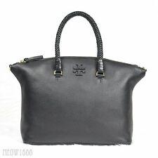 NWT TORY BURCH Taylor Leather Satchel Handbag Black $495