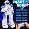 LED Electronic Dancing Robot Smart Walking Dancing Music Light Toy Kids Gift #