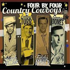Hank Williams Ernest Tubb Eddy Arnold George Jones - Country Cowboys (NEW 4CD)