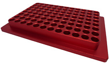Chill Rack Aluminum Cold Block For 96 Well Plates And Pcr Tubes