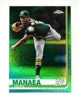 2019 Topps Chrome Green #170 Sean Manaea /99