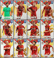 ADRENALYN XL FIFA 365 2020 LIVERPOOL FULL SET OF 12 TEAM MATE TRADING CARDS
