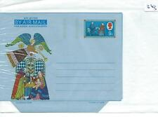 GB AEROGRAMMES - UNUSED -  ILLUSTRATED - 363 -  FESTIVE - 9d