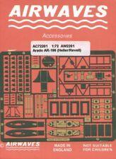 Airwaves 1/72 Arado Ar 196 etch for Heller kit # AEC72201