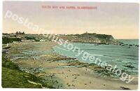 Vintage Scarborough Postcard, South Bay and Sands