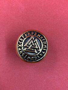 Stainless Steel Freemason Illuminati Gold Ring Masonic Three Pyramid Gold Ring