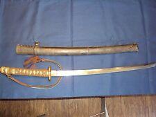 WW2 Japanese Army Samurai Koto sword ~ Great Condition !