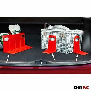 Cargonizer Red Trunk Organizer Stopper Stand 3 Pcs. For Dodge