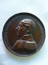 Medalla General Dufour Comandante en Jefe de la Armada Federal Suiza 1847