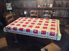 Vintage Quilt....Feed Sack....1950's