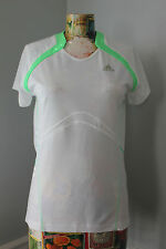 Adidas Womens Clima365 Short Sleeve Snova Green Running Top L Training  NWT $38