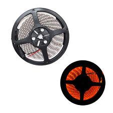 16.4ft 5050 SMD Orange LED Flexible Strip Light lamp 5M 300 Waterproof IP65 12V