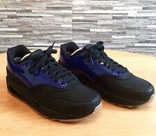 Nike Air Max 1 VT Deep Royal Blue-noir (original avec une boîte) Taille UK: 6