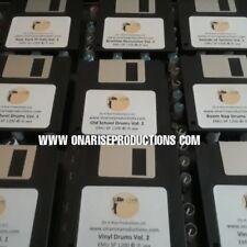 EMU SP1200 -- ALL I NEED FOR DRUMS Bundle Sound Kit  - 9 DISKS - OVER 287 DRUMS!