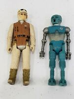 Star Wars Vintage Figure Rebel Soldier and Droid LFL 1980 HK