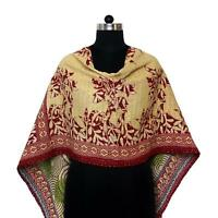 Cotton Kantha Scarf Vintage Head Wrap Stole Dupatta Hand Quilted Women Gypsy