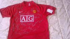 MAILLOT MANCHESTER UNITED signé