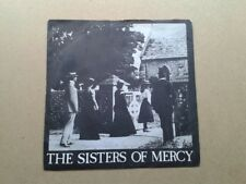 "Sisters of Mercy - Damage Done UK 1st 7"" vinyl VG+/VG 1980 MR7 Goth RARE!"