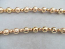 VINTAGE 50'S GOLD PLATED  LONG NECKLACE  26""