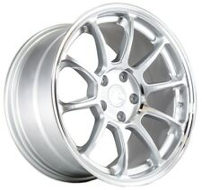 17X9 +35 Aodhan Ah06 5X114.3 Machined Silver RIM Fit XB Wrx RSX TSX TL CONCAVE