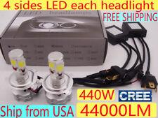 440W 44000LM H11 H7 CREE LED Headlight Car Bulb light H13 H4 HID Xenon Kit White