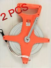 100 m Fiberglass surveyors  tape measure / Survey Tape/